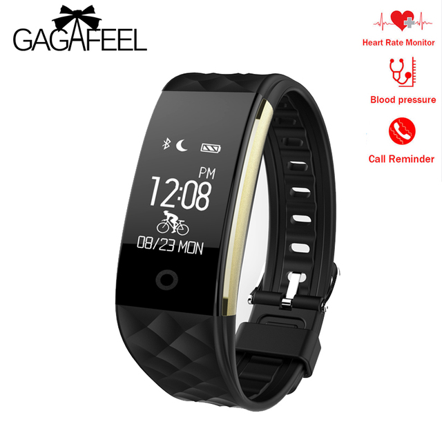 Gagafeel S2 Smart Watch Bluetooth Mens Womens for IOS Android Pedometer Heart Ra