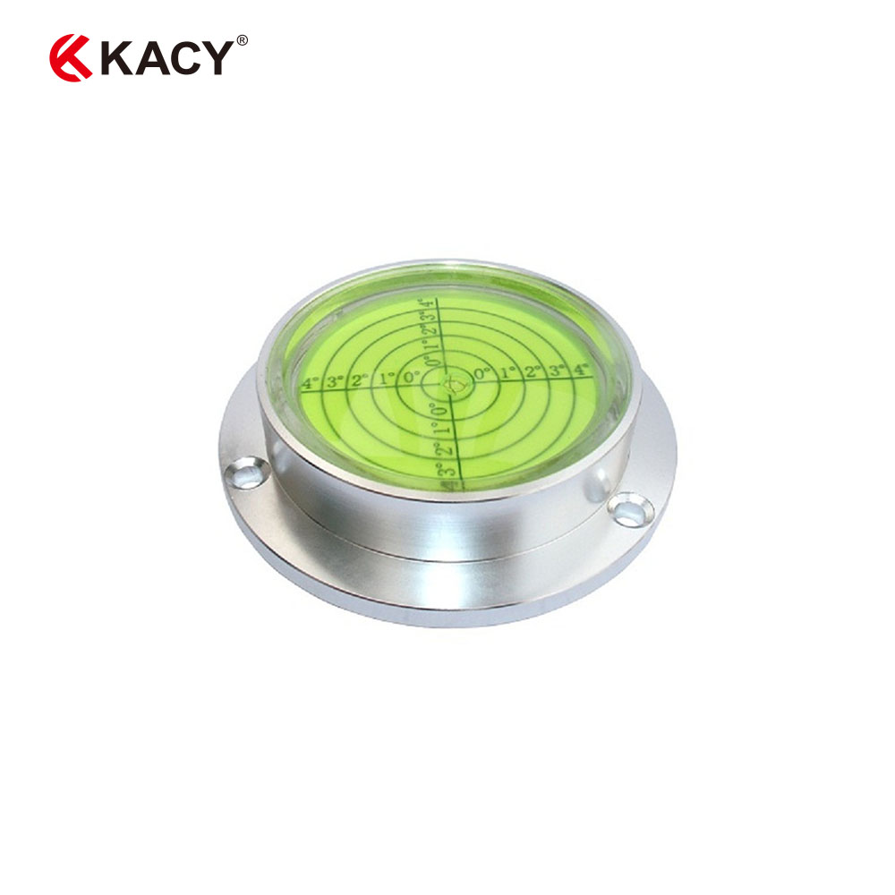 KACY 1pc 90x20mm CNC machine high accuracy stainless steel bubble levels with mounting holes stainless steel axle sleeve china shen zhen city cnc machine manufacture