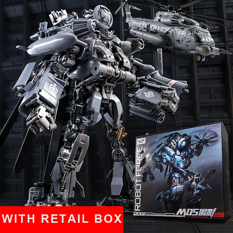 Transformation Blackout SS08 Oversize Alloy M05 Helicopter 10th Anniversary Movie Film Figure Robot Toys With Retail