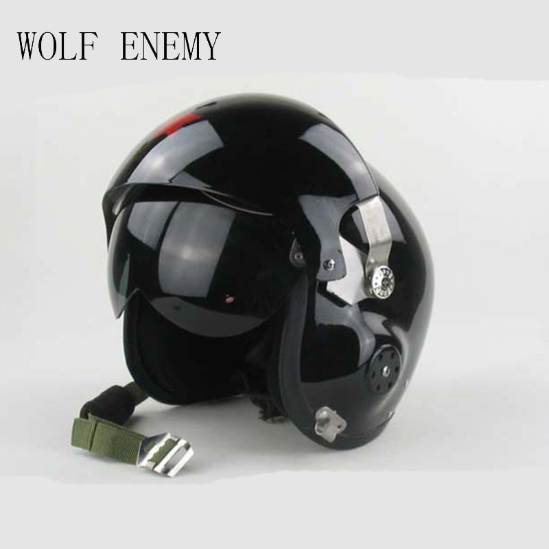 New Motorcycle/Scooter helmet & Air Force Jet PILOT Flight helmet Matte Blacks 2015 new kryptek typhon pilot fast helmet airsoft mh adjustable abs helmet ph0601 typhon