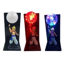 Dragon Ball Z Vegeta Son Goku Super Saiyan Led Novelty Lighting Lamp Bulb Anime Dragon Ball Z Vegeta Goku Toy DBZ Led Nightlight