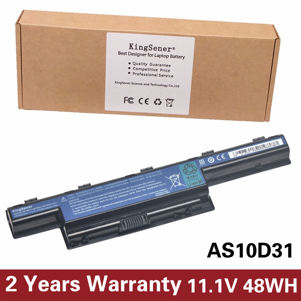 KingSener New AS10D31 Laptop Battery For ACER 4551G 4741G 5741G 5742G 5750G 7750G 7760G AS10D41 AS10D51 AS10D71 AS10D81 AS10D73 morris j doctor who touched by an angel