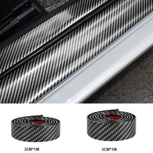 Car Door Protector Stickers 5D Carbon Fiber Rubber Sill Goods For KIA Toyota BMW Audi Mazda Ford Hyundai