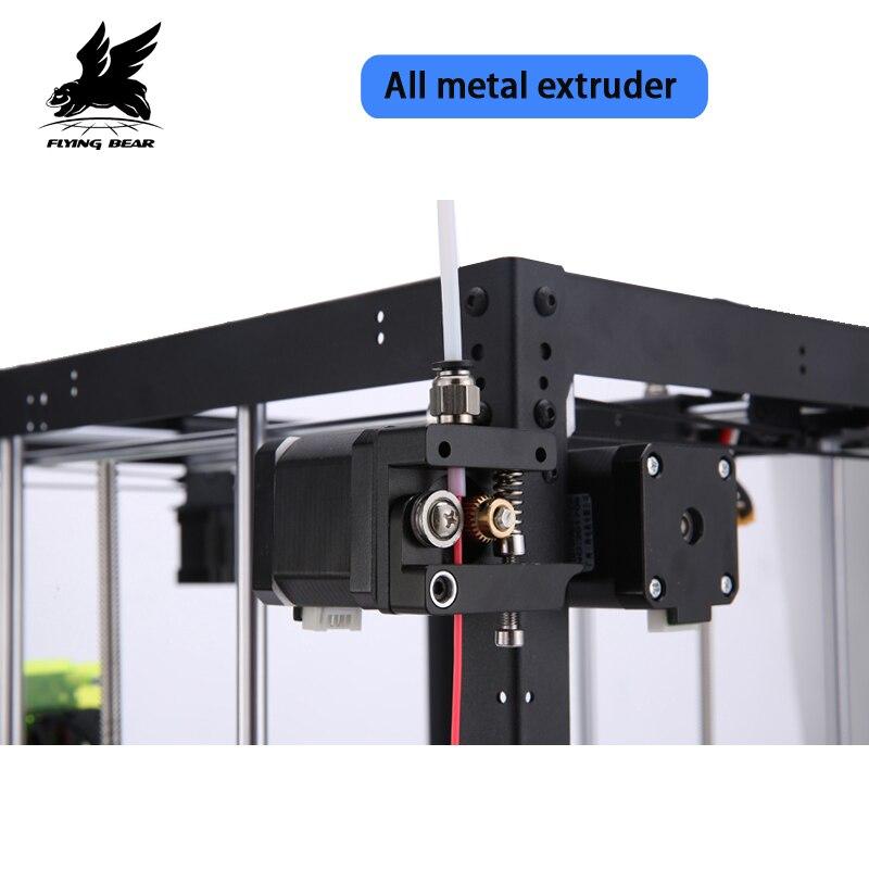 Nuovo Trasporto libero Flyingbear FAI DA TE P905X All metal Grande pringing dimensione kit Stampante 3d Filamento e 4G SD Card come regalo