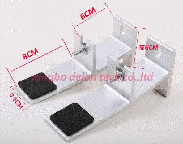 (1 Para) Universal Aluminium Sound Speaker Wall Bracket Halter-standplatz Ungleiche Leistung