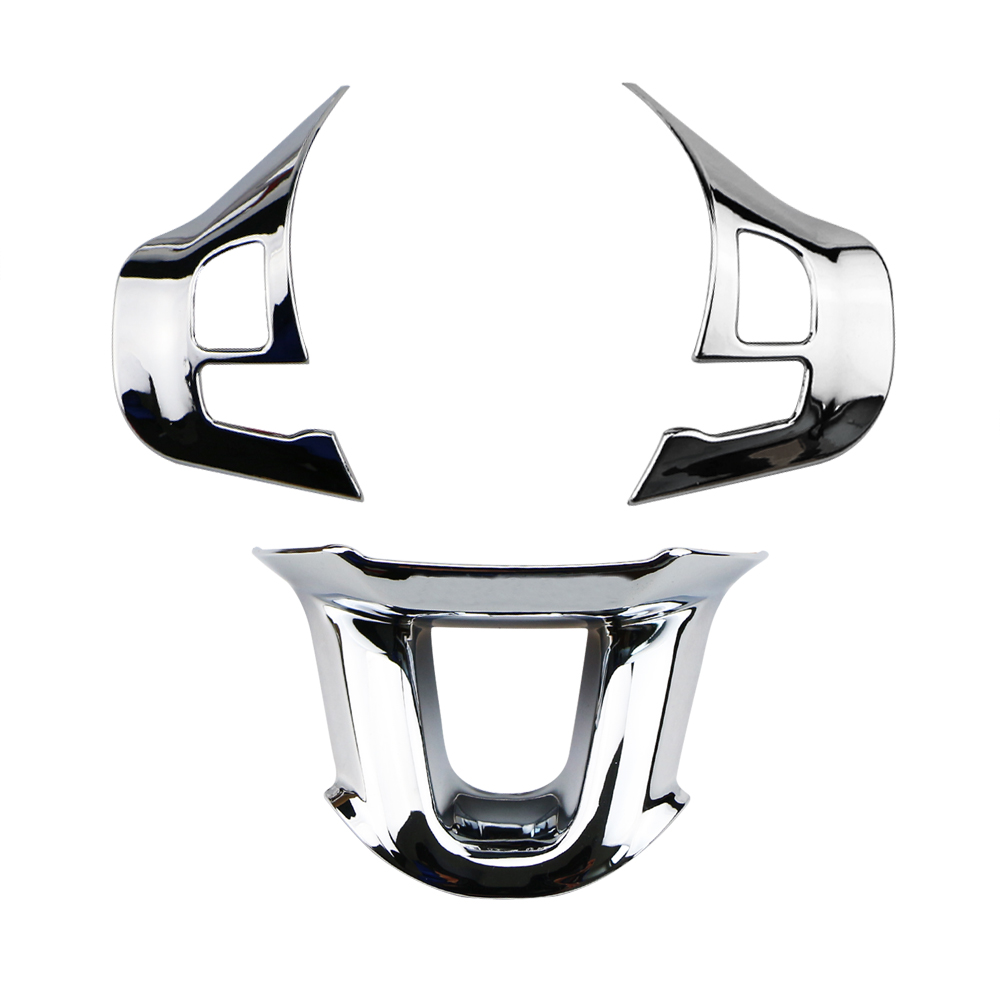 Image 5 - Zlord 3Pcs/Set Car Steering Wheel Decoration Cover Trim Sticker Fit for Peugeot 2008 208 308 2014 2015 2016 2017 2018 2019-in Car Stickers from Automobiles & Motorcycles