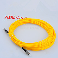 300Meters FC FC Simplex 9/125 Singlemode Fiber Optic Cable Patch Cord Jumper
