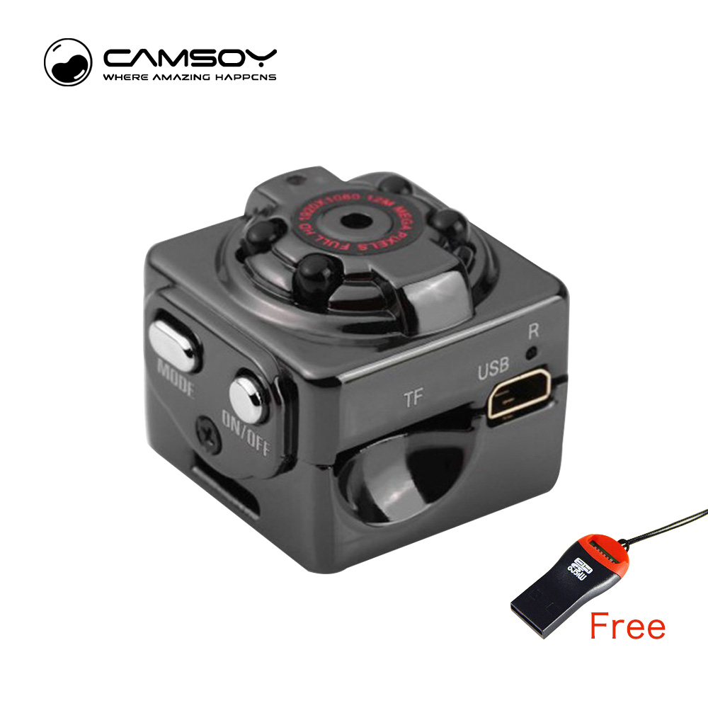 SQ8 Mini Camera Full HD 1080P 720P Micro Camera for Digital DVR Cam ...