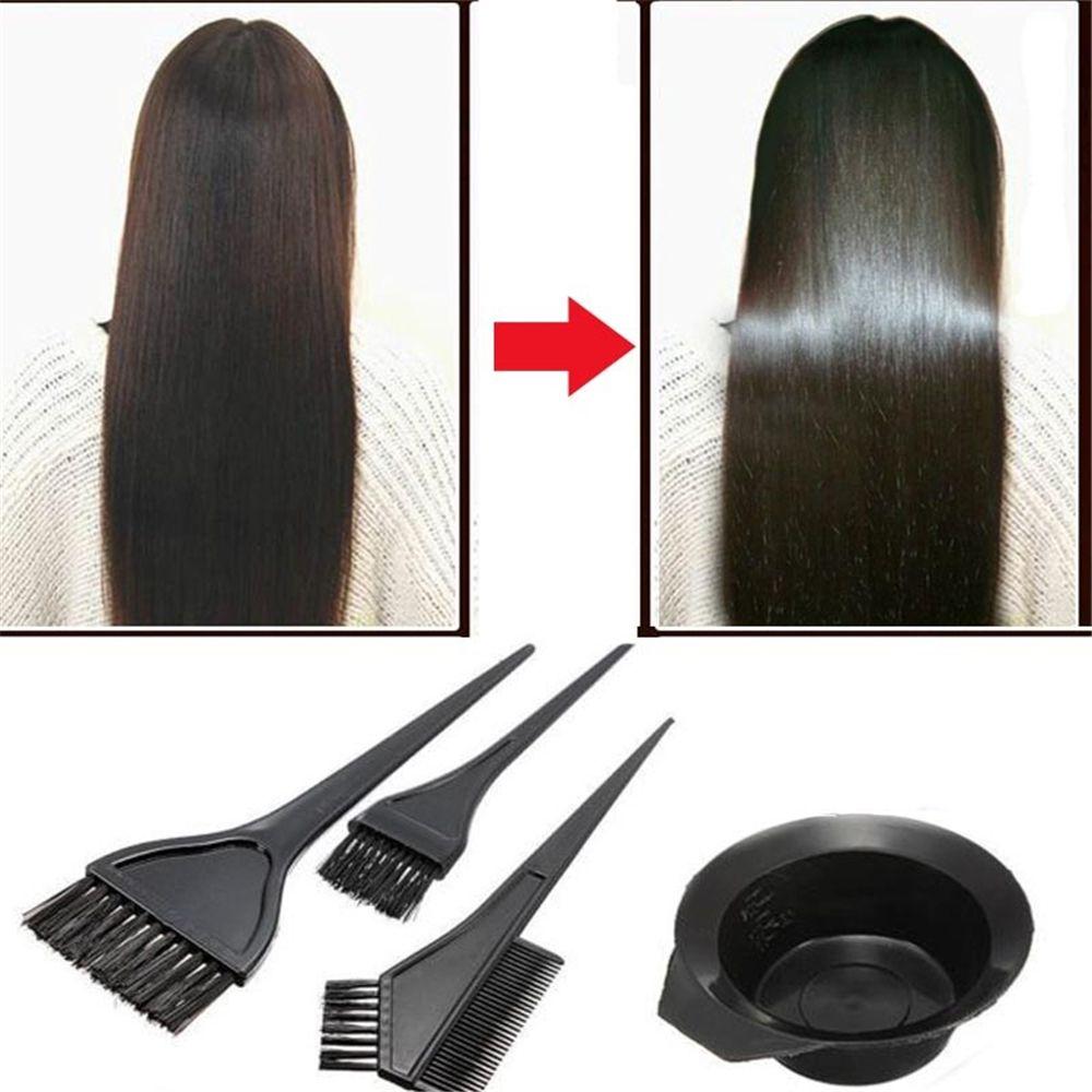 Diy-Tool-Set-Kit Hair-Color-Dye 6pcs/Set Brushes Bowl Combo Styling-Tools Salon Tint