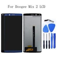 Für Doogee Mix 2 original LCD monitor und touch screen 5,99 zoll für Doogee Mix 2 handy zubehör + freies werkzeug