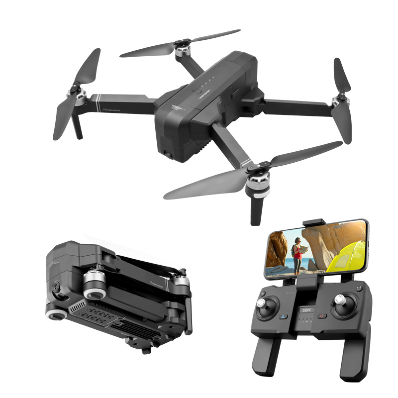 Image 5 - OTPRO WIFI F1 FPV With 3 axis Gimbal 1080P 4K Camera GPS 28mins Flight Time RC Drone Quadcopter RTF TOYS GIFT VS FIMI X8 SE A3RC Helicopters   -
