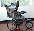Aeração de alta paisagem guarda-chuva do carrinho de criança de carro do bebê roda do carrinho