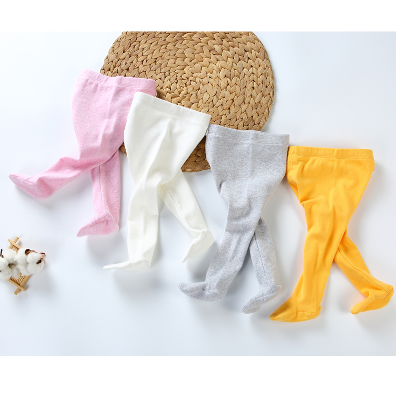 Baby pants cotton infant leggings newborn tights girl pants baby clothes spring and autumn fashion high elasticity baby trousers