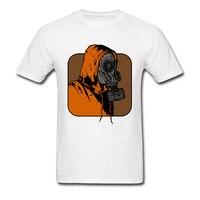 Leroy Gas Mask Mens Crew Neck T Shirt Custom Design Brand Slim Fit T Shirt Autumn