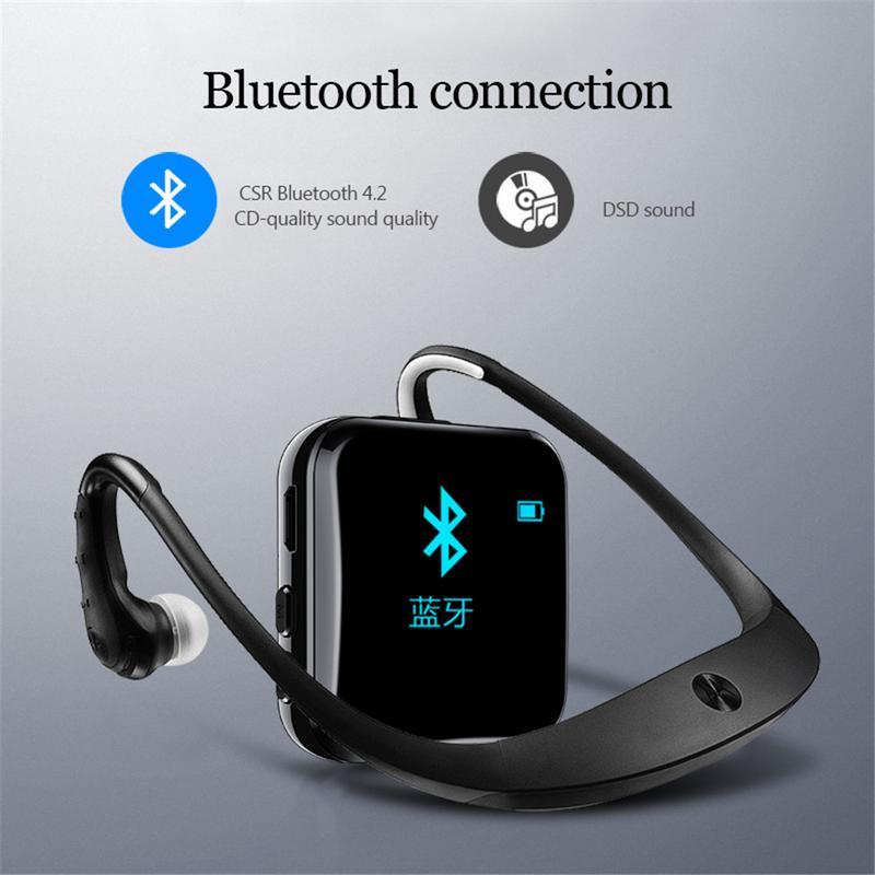 M7 Bluetooth DSD Son MP3 Sport HIFI Audio FM Radio Sans Perte Musique Mini Étudiants Haut-Parleur Ultra-mince Walkman lecteur