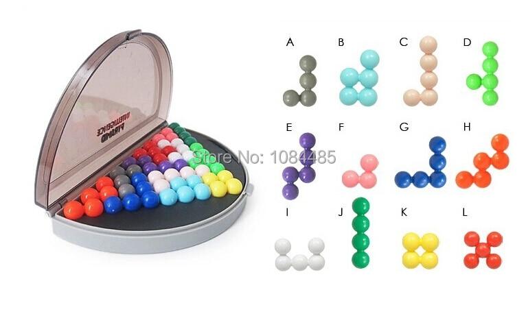 Hot Kids 3D Puzzle IQ Brain Teaser Εκπαιδευτικό Παιχνίδι Παιχνίδια για Παιδιά Ενήλικες