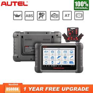 Image 1 - Autel Maxidas DS808K Diagnostic Tool Automotivo car diagnostic OBD2 ScannerTablet Code Reader(Upgraded Version of DS808, DS708)