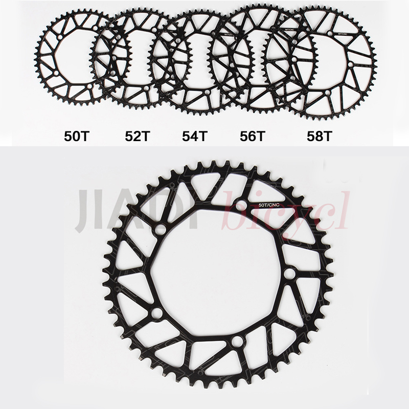 Bicycle Positive And Negative Chain Wheel Crankset Tooth Plate