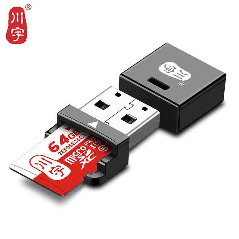 Kawau Microsd Lecteur de Carte 2.0 USB Mini Carte Adaptateur avec TF Fente Pour Carte C292 Max Soutien 128 GB Carte Mémoire lecteur pour Ordinateur