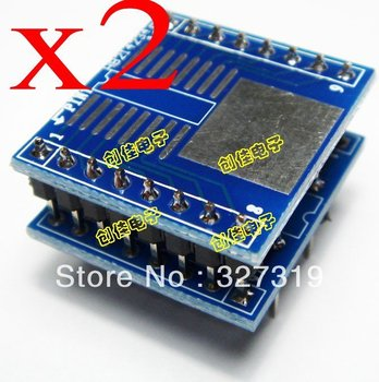 2pieces x SOP8 SOP16 to DIP8 DIP16 Socket Programmer Adapter m74hc237b1 m74hc237b dip16