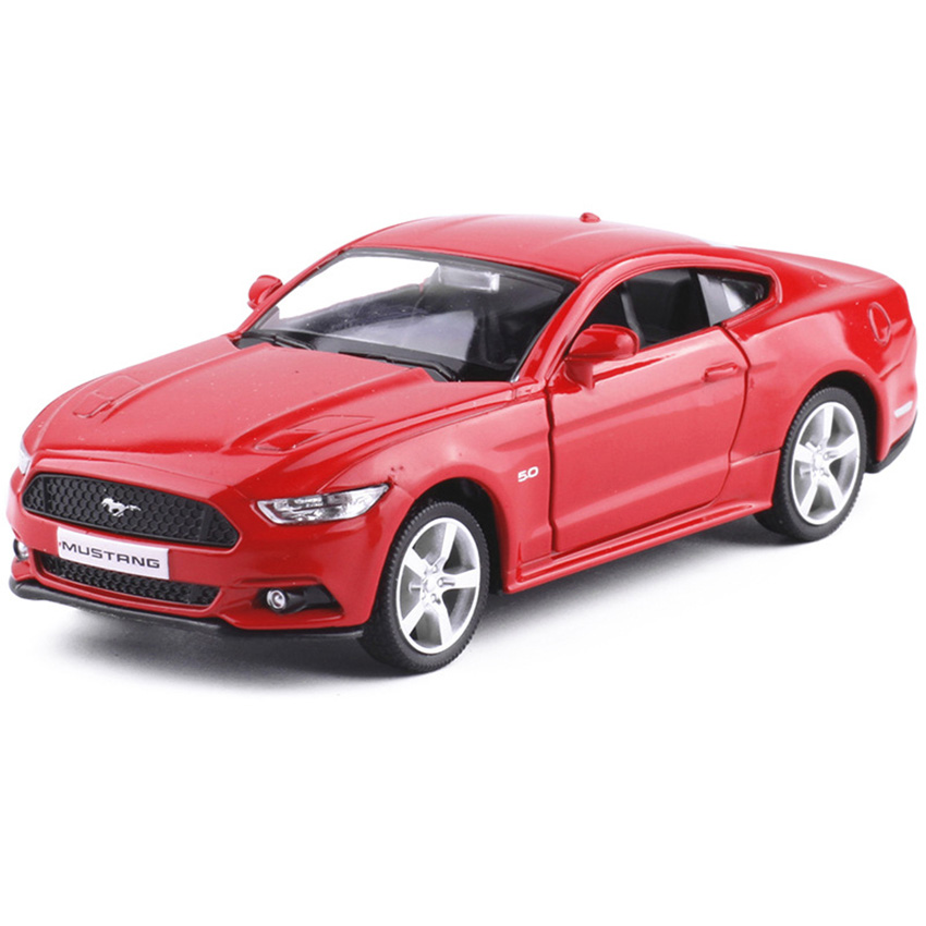 rmz city mustang 136 toy vehicles alloy pull back mini car replica authorized by the original factory kids toys coupe boy gift