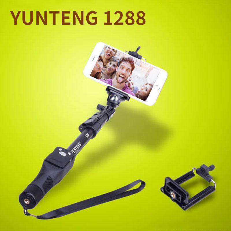 Yunteng 1288 Bluetooth Wireless Handheld Selfie Stick Holder - Cámara y foto