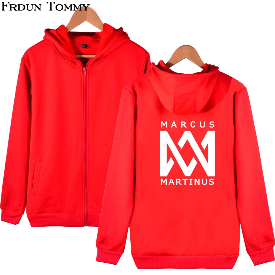 Frdun Tommy Marcus &martinus Zipper Hoodies Sweatshirt The Hottest Twin Combination New Style Hoodies Ouewear Pullovers Zippers Packing Of Nominated Brand Hoodies & Sweatshirts
