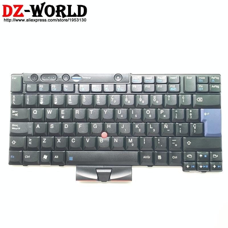 ES Spanish Keyboard for Lenovo Thinkpad T410 T420 X220 X220i T410S T420S T510 T520 W510 W520 Teclado 45N2151 45N2081 45N2221 iES Spanish Keyboard for Lenovo Thinkpad T410 T420 X220 X220i T410S T420S T510 T520 W510 W520 Teclado 45N2151 45N2081 45N2221 i