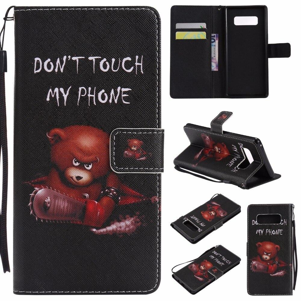 8 Kleurrijke Fundas Voor Samsung Note 4 5 8 Telefoon Case Grand Prime G530 Core Prime G360 Xcover 3 G388f Pu Leather Flip Book Cover Modieuze En Aantrekkelijke Pakketten