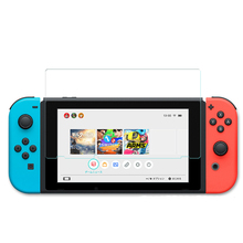 9H Tempered Glass Screen Protector Eye Protection For Nintend Switch Screen Protector film For Nintendo Switch NS NX Accessories недорого
