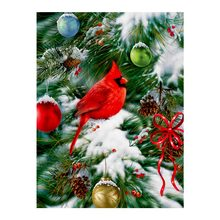 Northern Cardinal Diamond Painting animal Christmas bird Round Full Drill 5D Nouveaute DIY Mosaic Embroidery Cross Stitch gifts