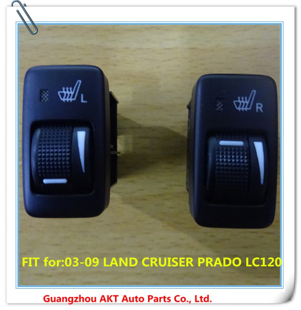 ФОТО SWITCH, SEAT HEATER fit for :2003-2009 Toyota LAND CRUISER PRADO LC120 OEM:84751-60120/84751-60110  left or rigth