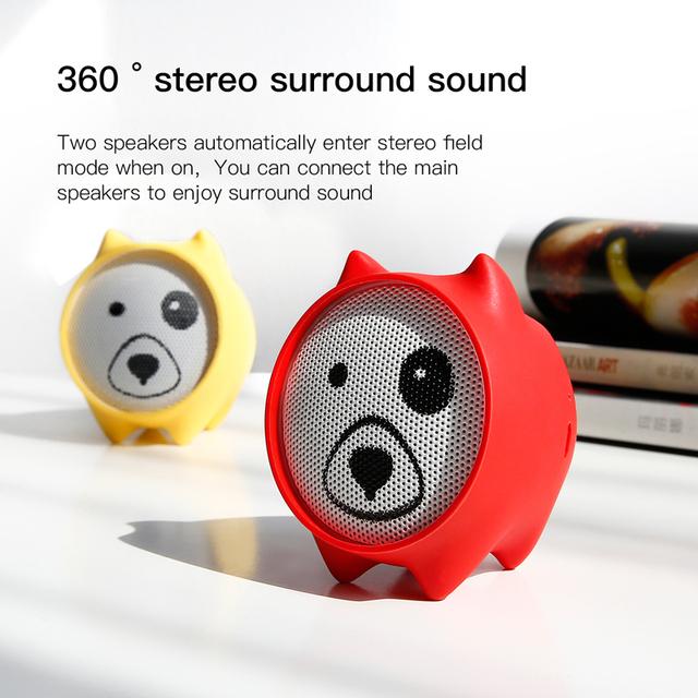 Baseus Dogz Portable Bluetooth Stereo Sound Wireless Speaker