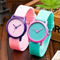 2016 Vansvar Women Fashion Sweet Jelly Silicone Sports Watch Girls Candy Color Cartoon Watch Casual Quartz Watch Montre Femme