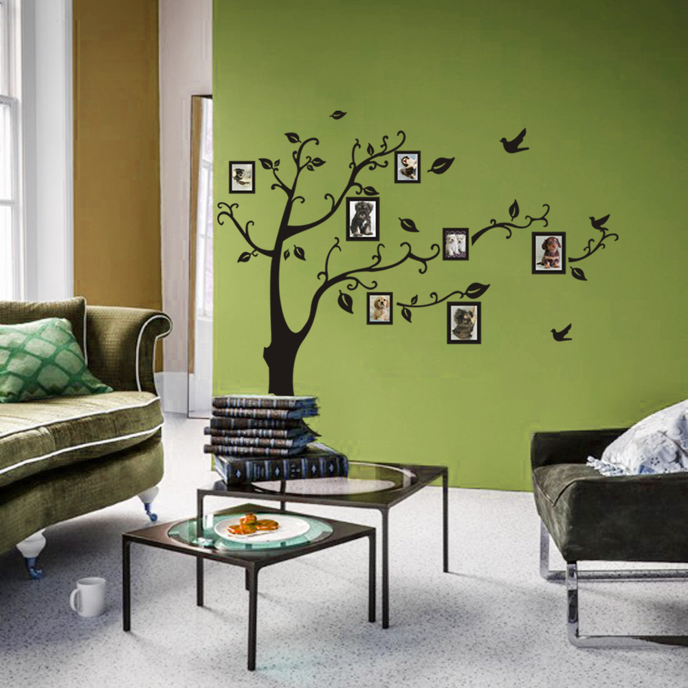Photo Frame Tree Wall Stickers Guest Room Self Adhesive Removable Wallpaper Painting Poster Bedroom Living Home Decor In From