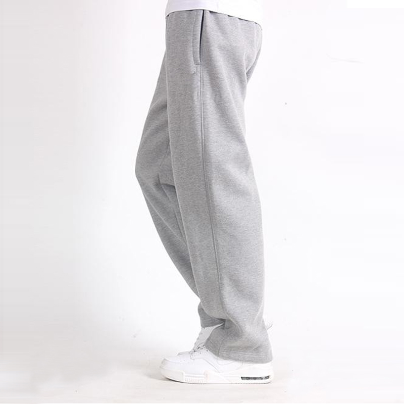 Cotton Sweatpants Trousers Loose 7XL Large Plus-Size Solid-Baggy 5XL 6XL Big Casual Men