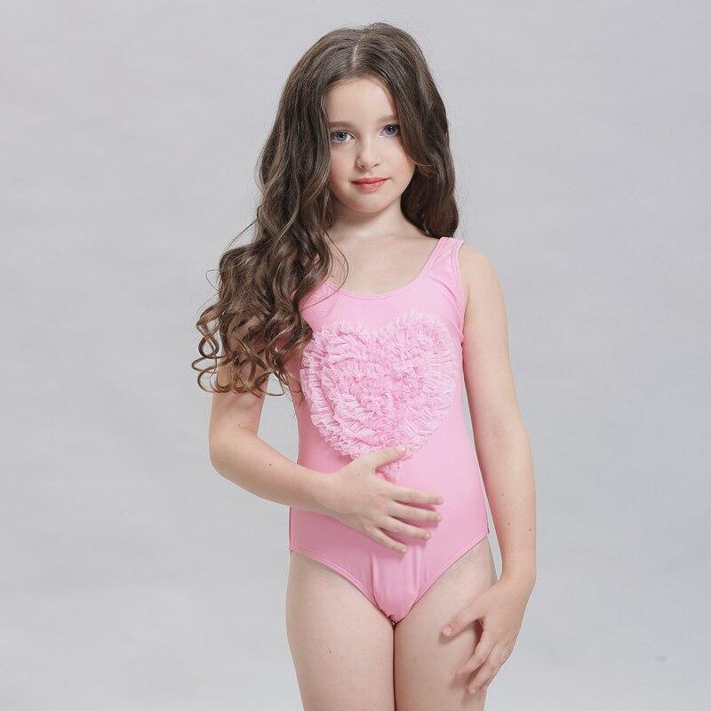 8f71e1a41fe09 Bathers Children One Piece Swimwear Lovely Girl Sport Swimsuit Kids Swimmer  Girls Bathing Suit Infantil Swimwear for Girls 17014-in Children's One-Piece  ...