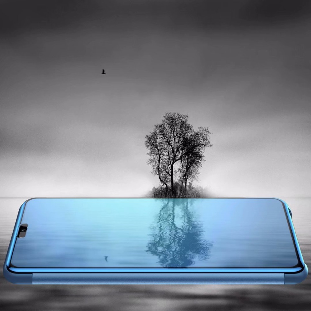 Clear-View-Mirror-Flip-PC-Phone-Case-for-Huawei-P20-P10-mate-20-lite-P-Smart (4)