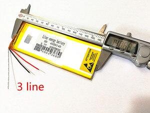 Image 3 - 3 ライン 3.7 V 、 4000 mAH (ポリマーリチウムイオン電池) リチウムイオンバッテリータブレット pc 7 インチ 8 インチ 9 インチ 4050140 送料無料