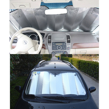 1PC 140*70cm Back Front Rear Car Windshield Sunshade Window Sun Shade Sunshade Visor Film For Car Window Auto Accessories 1