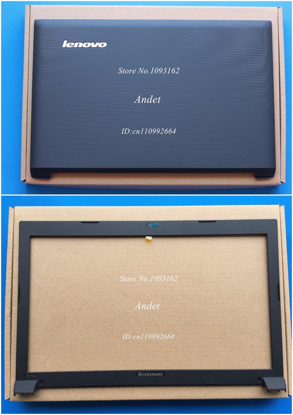 Новые оригинальные для lenovo b570 b570e b575 b575e жк топ задняя крышка задняя крышка + передняя рамка