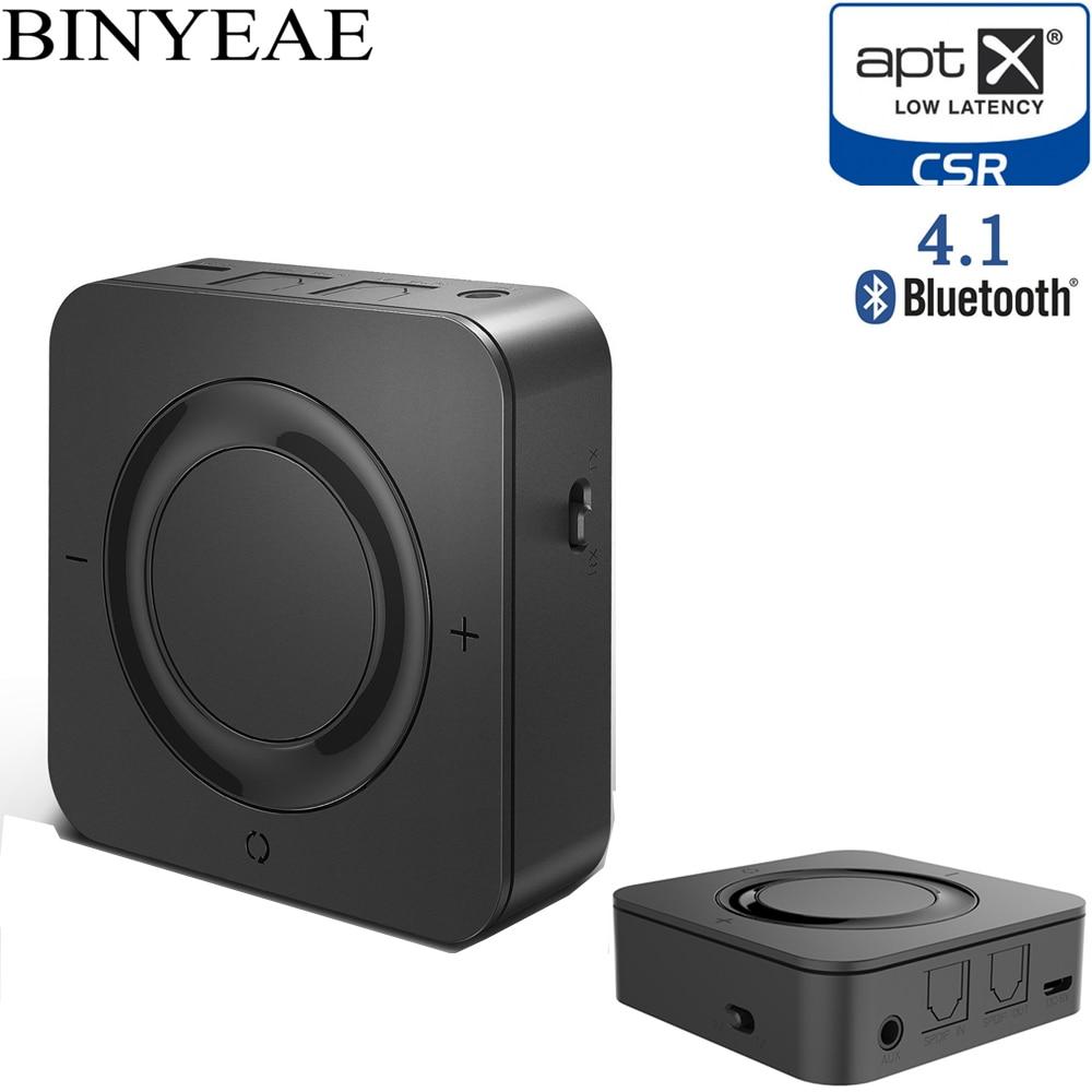 Binyeae Bluetooth 4 1 Aptx low latency CSR8670 SPDIF RCA Music Transmitter font b Receiver b
