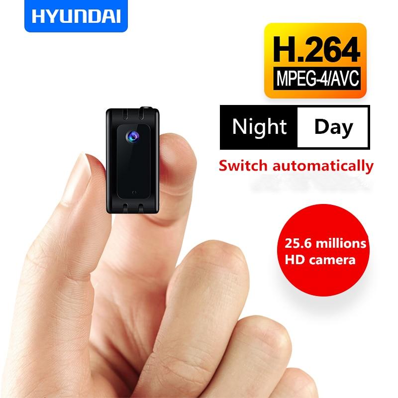 Yescool HY-K601 8 GB WiFi Mini caméra 1080 P enregistreur vidéo HD caméscopes Micro caméras espia enregistreur vidéo vocal Support 64 GB TF
