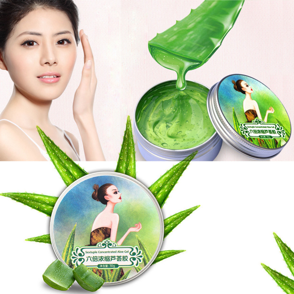 100% Pure Natural Aloe Vera Gel Wrinkle Removal Moisturizing Anti Acne Anti-sensitive Oil-Control Sunscreen Treatment Cream