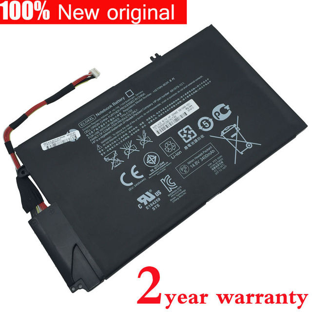 for HP Original Laptop battery ENVY 4-1000 EL04XL TPN-C102 HSTNN-UB3R HSTNN-IB3R 681879-1C1 681949-001 4-1218TU 4-1007 4-1008tx