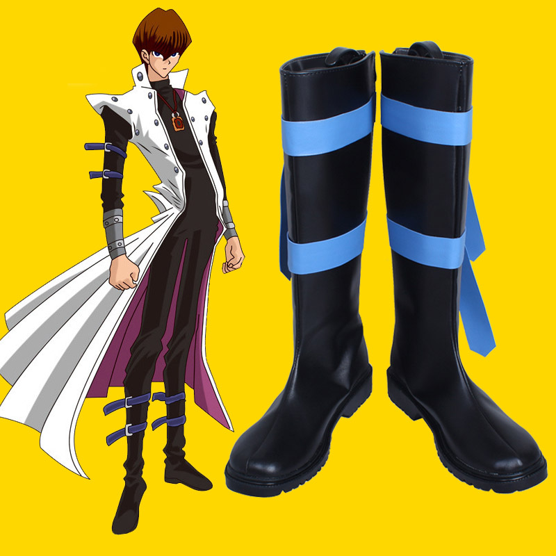 King Of Games Yu-gi-oh Kaiba Seto Seto Kaiba Cosplay Boots Customize Any Size 2912 Novelty & Special Use Costumes & Accessories