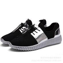 Sneakers Running Shoes Lightweight Sports PU Sole Men