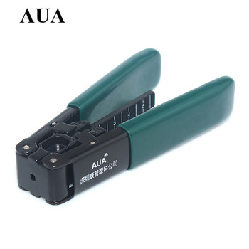 Ftth cold crimping tool kit covered wire cable stripper is stripping pliers can be broken fiber covered wire needle