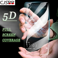 CJSBB 5DFull Curved Cover Glass Samsung Galaxy S6 S7 A3 2017 A5 A7 2016 Screen Protector For Samsung Galaxy S6 S7 Tempered Glass(China)