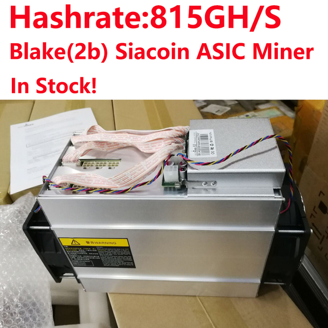 US $1499 0 |In Stock! Bitmain Antminer A3 815G Blake 2b Algorithm Siacoin  Mining machine miner A3 815Gh/S without PSU-in Block Chain/Miner from